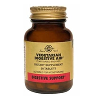 Solgar Vegan Enzimas Digestivas Comprimidos masticables - Envase de 250