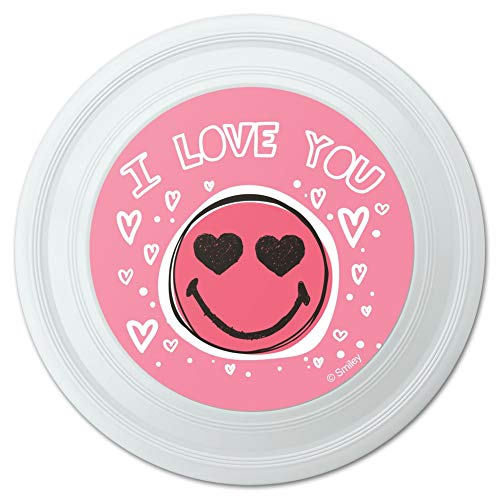 GRAPHICS & MORE I Love You Hearts Smiley Face Novelty 9