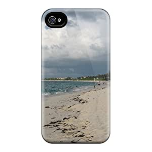 New Fashionable Kristyjoy99 MRH3237ApOY Covers Cases Specially Made For Iphone 4/4s(landscapes Beach)