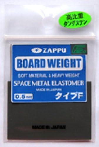 ZAPPU(ザップ) ボードウエイト タイプF カットタイプ