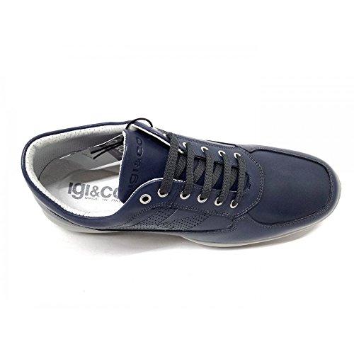IGI&Co Herren Sneaker Blau Blau Blau