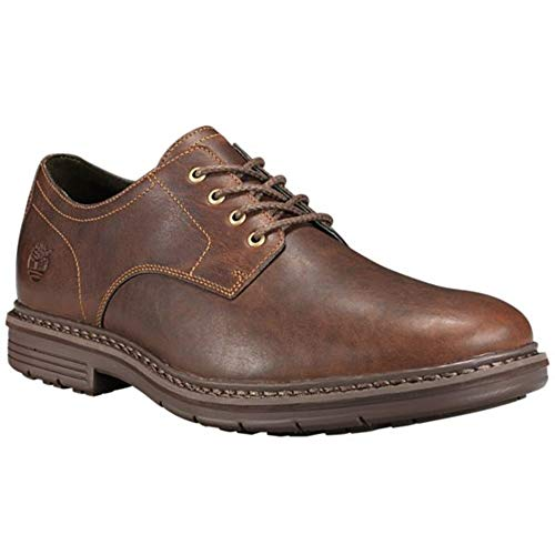 - Timberland Mens Naples Trail Oxford, Dark Brown Suede, Size 8.5