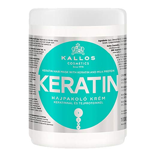 각 질 및 우유의 단백질 Kallos KJMN 마스크 건조, 손상 및 화학 처리 머리-Kallos 헤어 케어 33434 (2017-03-01)