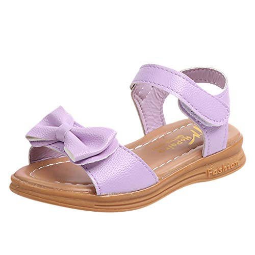 Toddler Princess Shoes Infant Kids Sandals Girls Ccfamily Purple Baby Casual Children Bowknot BrxeEQoWdC