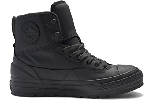 Converse Mens Boots (Converse Chuck Taylor All Star Tekoa Hi Top Black/Black/White Mens)