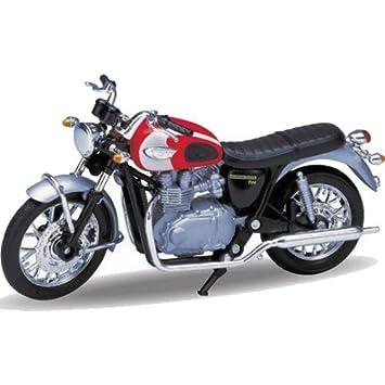 Welly 2002 Triumph Bonneville T100 118 Scale Model Motorcycle