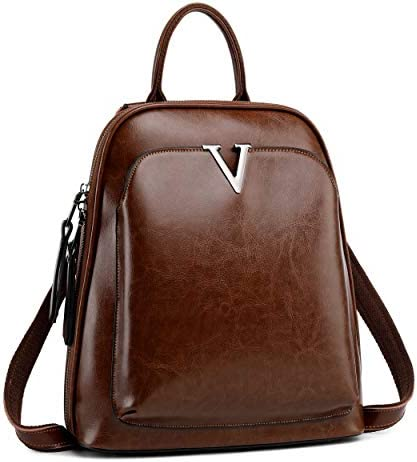 Iswee Vintage Leather Backpack