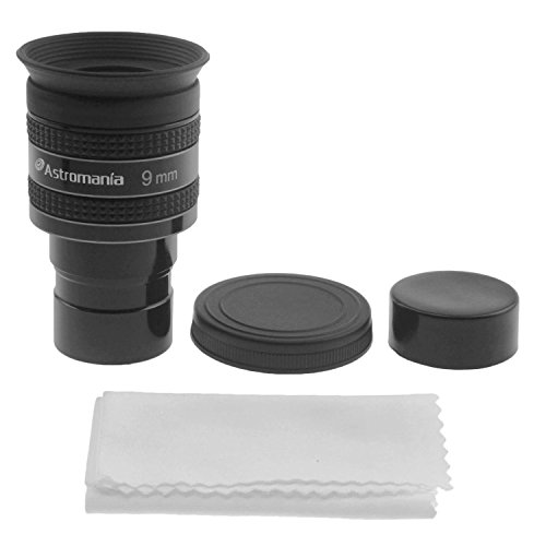 Astromania 1.25'' 9mm 58-Degree Planetary Eyepiece For Telescope by Astromania