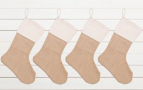 Review WeiVan Christmas Stocking Plain