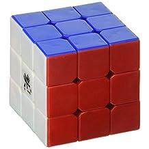 Dayan 3x3x3 Mini ZhanChi Speed Cube 6 Color Stickerless 4.2cm Puzzle