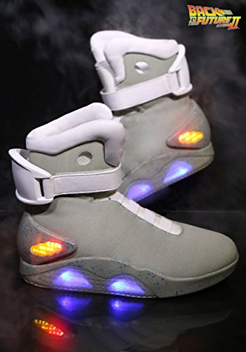 Back to the Future 2 Light Up Shoes Universal Studios Officially Licensed Size 9