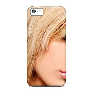 Premium Blonde Girl Cute Heavy-duty Protection Case For Iphone 5c