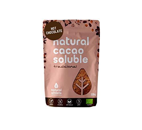 NATRULY Cacao en Polvo Sin Azúcar Refinado, Cacao Soluble Orgánico, Sin Gluten, Sin Lactosa, Solo 25% Azúcar de Coco…