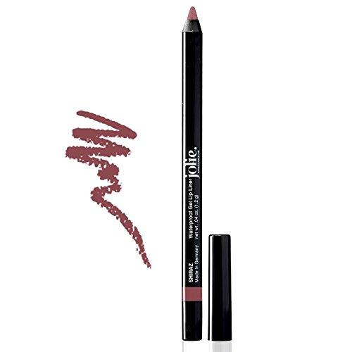 Shiraz Blend - Jolie Cosmetics Waterproof Gel Lip Liner - Super Smooth, Extra Long-Wear (Shiraz)