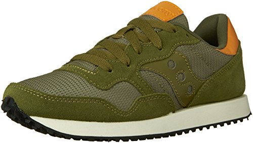Saucony Originals Damen DXN Trainer Fashion Sneaker Olive