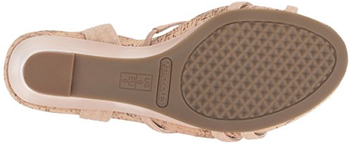 Song Women's Snake Sandal Plush Wedge Aerosoles Pink xSw0Tx