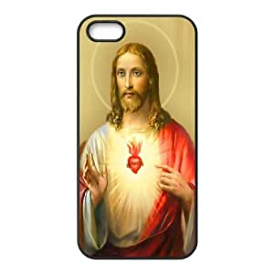 Jesus christ Design Pattern Hard Skin Back Case Cover Potector For For Iphone 5,5S Case color7 by runtopwell