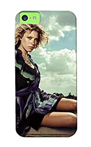 New Exultantor Super Strong Girl On The Edge Tpu Case Cover Series For Iphone 5c