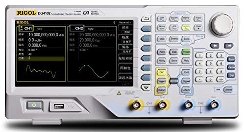 Rigol DG4102-100 MHz Arbitrary Waveform Generator