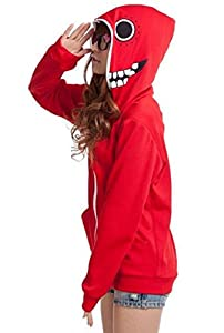 T2C Vocaloid GUMI [Matryoshka] Hoodie styl (Red) (M)