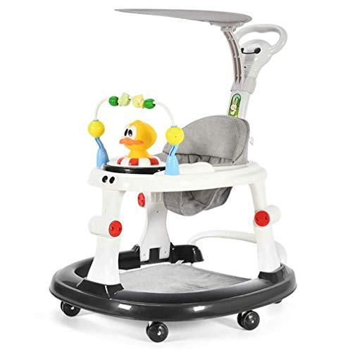 Baby Walkers 6-18 Meses Andador para bebé, Plegable y Regulable en ...