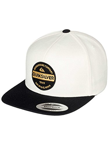 Hombre Quiksilver Chowder Gorra ajustable Snapback Firm Cap nY6qUrYw