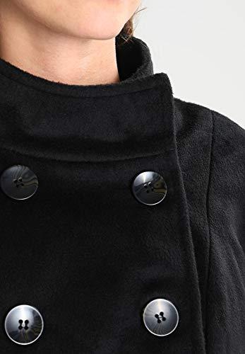 ou pour femme col court beige pour double femme rang Anna chaud chic Manteau Veste d'hiver Field noir Manteau en femme pour avec montant Peacoat avec qzXO8