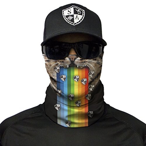 S A 1 Face Shield EDM Rave Face Shield, Face Shields for Men and Face Shields for Women – UV Face Shield ()