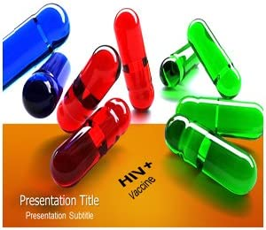 Amazon Com Hiv Vaccine Powerpoint Template Hiv Medicine