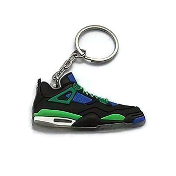 on sale 4e43c dc437 Jordan IV/4 DB Doernbecher Superman LS Sneakers Shoes Keychain Keyring AJ  23 Retro
