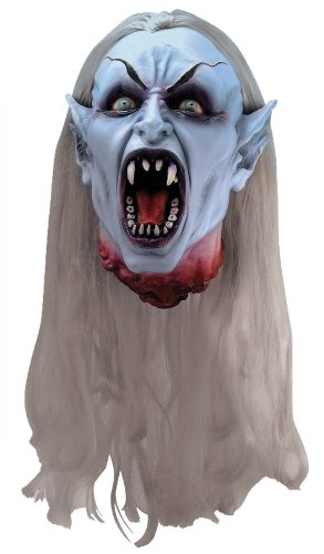 Forum Novelties Scary Cut-Off Gothic Vampire Head Party Decoration Latex Halloween Pr Prop, (Vampire Latex)