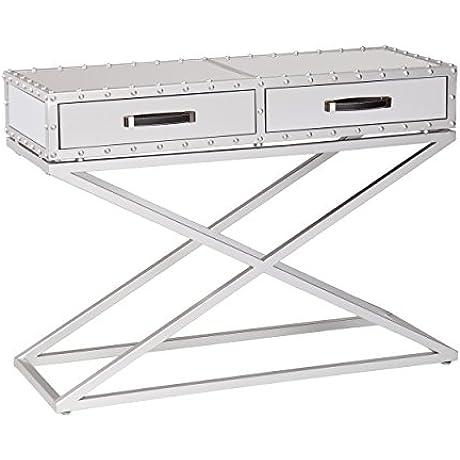 Southern Enterprises Inc AMZ3184KC Mirrored Console Table