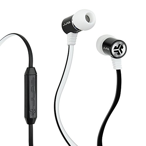 JLab Bass DJ Inspired Earbuds w/mic for Apple/Android
