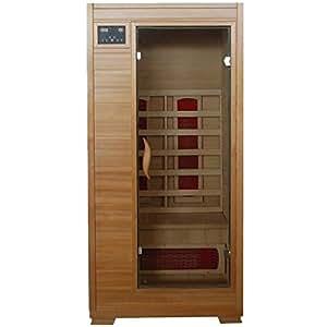 Amazon Com Buena Vista Sa2400 1 Person Infrared Sauna