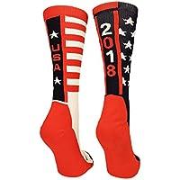 MadSportsStuff USA Pride Athletic Crew Socks - Limited Edition