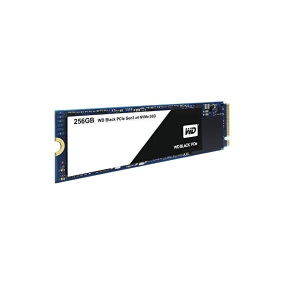 WD Black 256GB Performance SSD - 8 Gb/s M.2 PCIe NVMe Solid State Drive – WDS256G1X0C [Old Version] 1 Sequential read speeds up to 2050 MB/s - more than 3 times faster than a SATA SSD Optimized thermal and power management to help maintain consistent high performance during intense workloads Industry-leading 1.75M hours Mean Time To Failure (MTTF) for lasting reliability