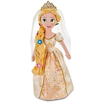 Disney Tangled Rapunzel novia XL muñeca con diseño de Enredados Doll Peluche Muñeca