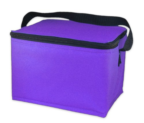 EasyLunchboxes Insulated Lunch Cooler Purple product image