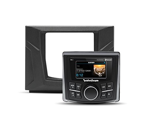 Rockford Model (Rockford Fosgate GNRL-STAGE1 Stereo Kit for Select Polaris General Models)