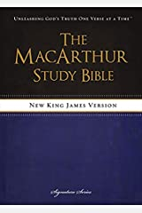 NKJV, The MacArthur Study Bible, Hardcover: Revised and   Updated Edition Tapa dura