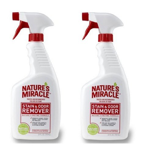 Nature's Miracle Stain and Odor Remover (24 oz...