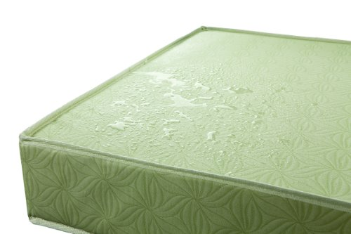 Dream On Me 5'' Double Sided Play Yard Foam Mattress, Green by Dream On Me (Image #4)