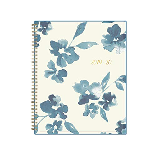 Blue Sky 2019-2020 Academic Year Weekly & Monthly Planner, Flexible Cover, Twin-Wire Binding, 8.5'' x 11'', Bakah Blue by Blue Sky (Image #1)