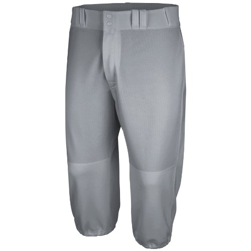 Majestic Men's Cool Base Throwback Pant, Pro Blue Gray, Small