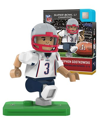Julian Edelman New England Patriots OYO Sports NFL G4 Gen 4 Figure Minifigure