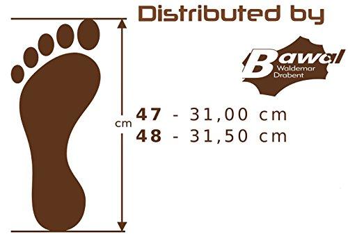49 de Grafito para Big 48 Grandes Hombres Fieltro Fieltro Suela 47 Pantuflas Size de Zapatillas Cuero amp; Tamaños 50 Fd21 awaxEqOY