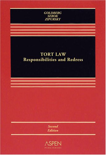 Torts Responsibilities & Redress