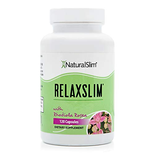 """RelaxSlim Russian Adaptogens Supplement with Rhodiola Rosea, Formulated by Award Winning Metabolism and Weight Loss Specialist- All Natural and Powerful Aid to the """"Slow Metabolism"""" - For Rapid Fa"""