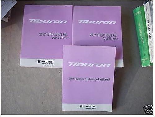 Hyundai tiburon 1997-2001 service repair manual.
