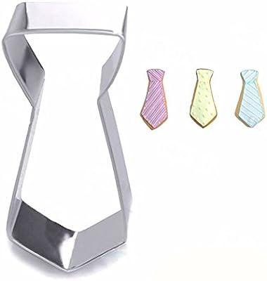 Tourwin 2 piezas boda corbata acero inoxidable Cookie Cutter ...